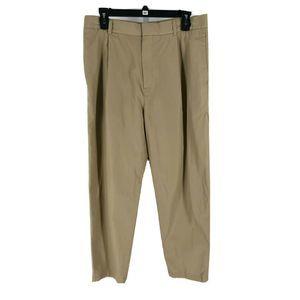 COS Women's Tan Relaxed Leg Chino Pants Size 46